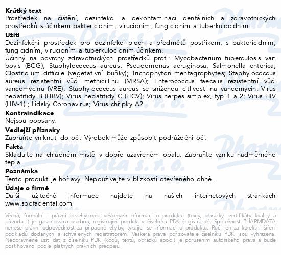 Informace o produktu Desident CaviCide 200ml