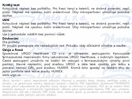 Informace o produktu URGO FILM Transparentní náplast 5mx1.25cm