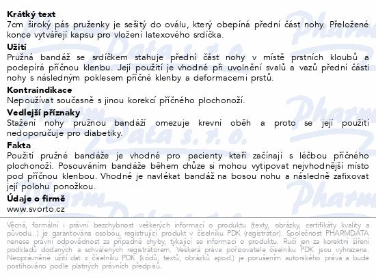 Informace o produktu svorto 048 Bandáže pružné se srdíčkem 38-39 (3)