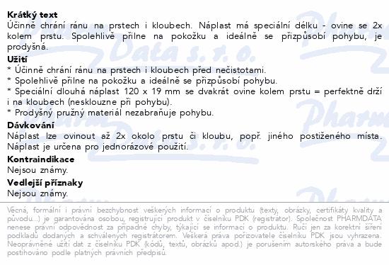 Informace o produktu Hansaplast náplast na prsty 16ks č.76861