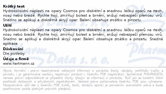 Informace o produktu Rychloobvaz COSMOS Na opary 16ks