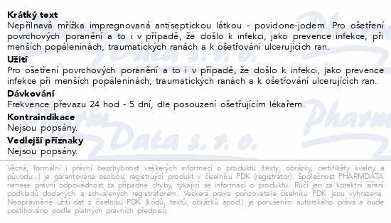 Informace o produktu Inadine 9.5x9.5cm 25ks
