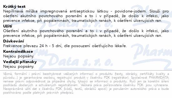 Informace o produktu Inadine 5x5cm 25ks