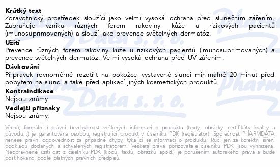 Informace o produktu Actinica Lotion 80g