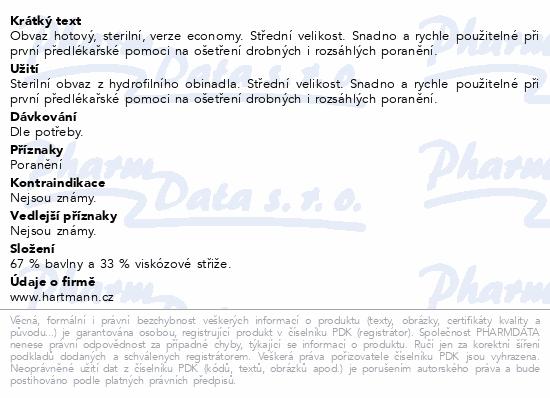 Informace o produktu Obvaz hotový Economy č.3 střední
