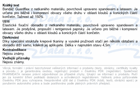 Informace o produktu FOX ELASTIC BANDAGE- samodrž.bandáž 2.5cmx4.5m 2ks