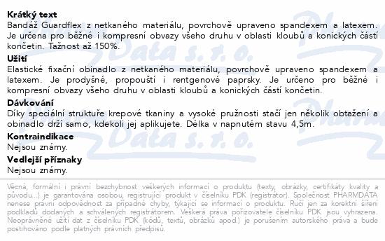 Informace o produktu FOX ELASTIC BANDAGE- samodržící bandáž 7.5cmx4.5m
