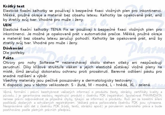 Informace o produktu TENA Fix Premium Small ink.kalh.5ks 754023