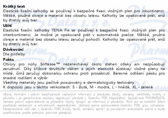 Informace o produktu TENA Fix Premium Large ink.kalh.5ks 754025
