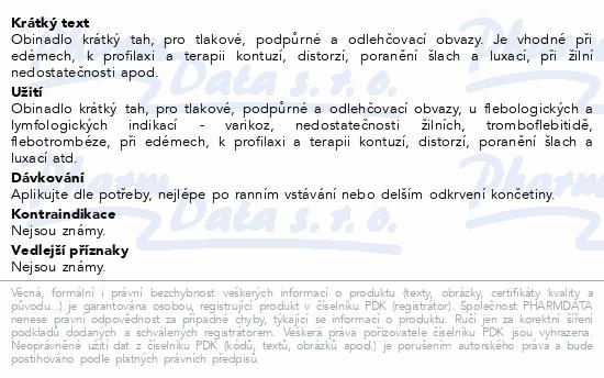 Informace o produktu Obinadlo elast. Rosidal K 10cm x 5m 1ks