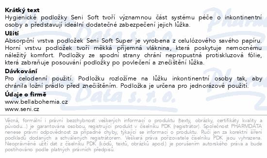 Informace o produktu Seni Soft Super 60 x 40 cm 30ks podložky absorpční