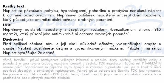 Informace o produktu URGO SENSITIVE Citlivá pokožka náplast 1mx6cm
