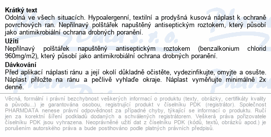 Informace o produktu URGO RESISTANT Odolná náplast 20ks