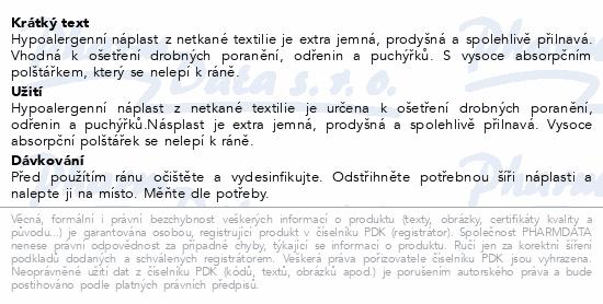 Informace o produktu 3M Spofaplast Náplast z netkané textil.864 1mx8cm