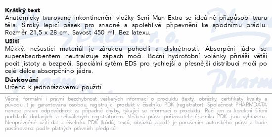 Informace o produktu Seni Man Extra 15ks inkont.pomůcky