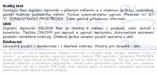 Informace o produktu Teploměr Digital CELSIUS flexi