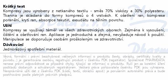 Informace o produktu Kompres netk.text.nest.10x10cm/100ks Steriwund
