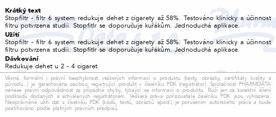 Informace o produktu Stopfiltr 3x30ks