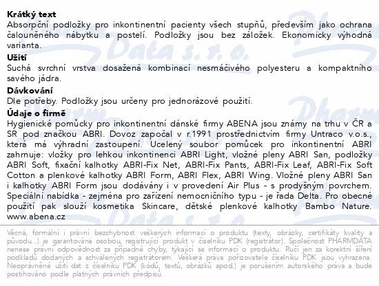 Informace o produktu Inkont.podl. Abri Soft ECO 40x60cm 60ks