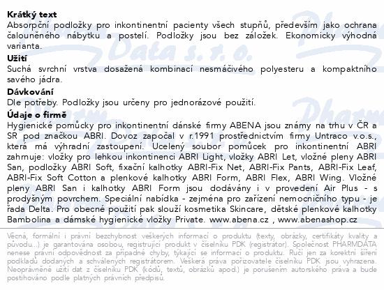 Informace o produktu Inkont.podl. Abri Soft ECO 60x90cm 30ks