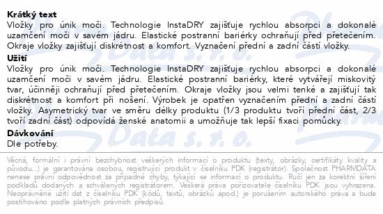 Informace o produktu TENA Lady Extra Plus ink.vložky 16ks 760602