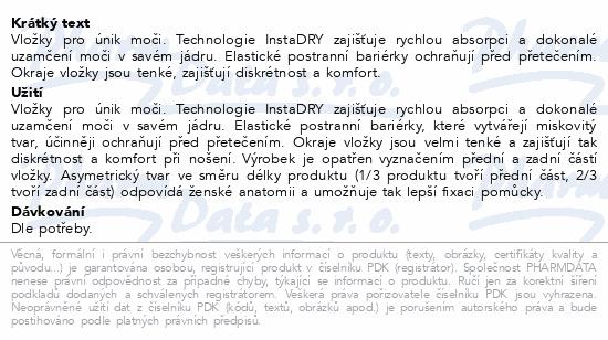 Informace o produktu TENA Lady Maxi ink.vložky 12ks 760931