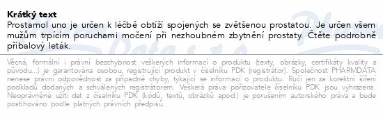 Informace o produktu Prostamol Uno 320mg 90 kapslí