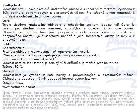 Informace o produktu Obin.elast.Idealast-haft color modrá 8cmx4m/1ks