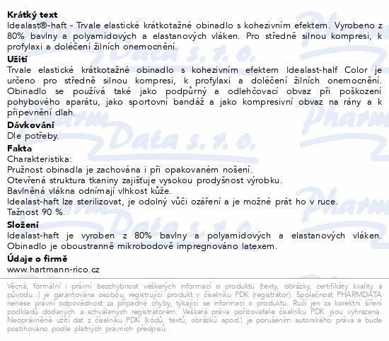 Informace o produktu Obin.elast.Idealast-haft color 10cmx4m/1ks červená