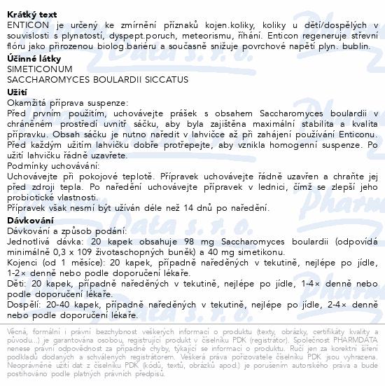 Informace o produktu Enticon 30 ml