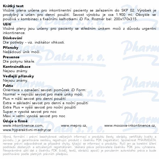 Informace o produktu iD Form Extra 21ks
