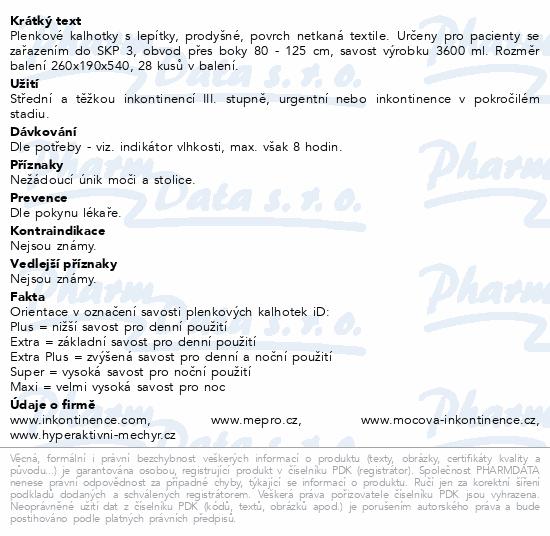 Informace o produktu iD Slip Medium Super 563027528 28ks