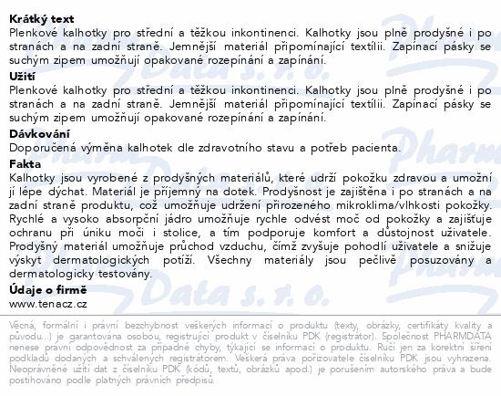 Informace o produktu TENA Slip Plus Small ink.kalh.30ks 710530
