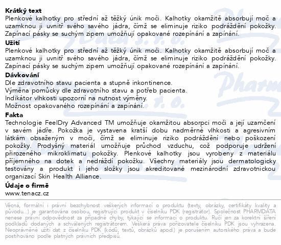 Informace o produktu TENA Slip Super Small ink.kalh.30ks 711930