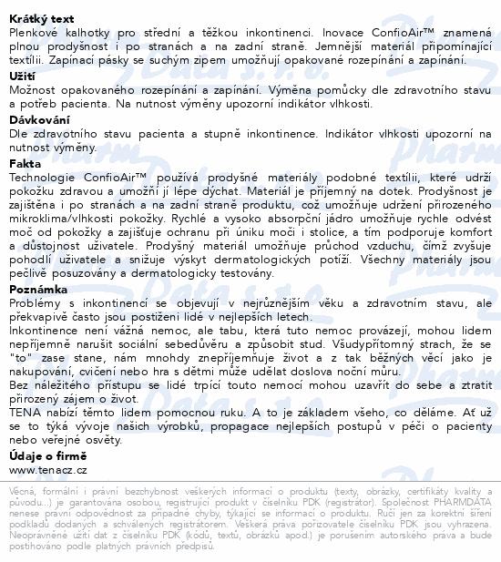 Informace o produktu TENA Slip Maxi Small ink.kalh.24ks 710824