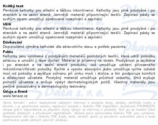 Informace o produktu TENA Slip Plus XS ink.kalh.30ks 710430