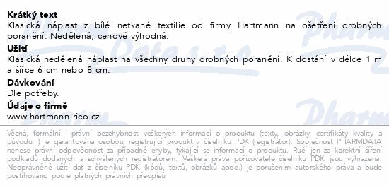 Informace o produktu Rychloobvaz COSMOS Klasická netkan.textil.1m x 6cm