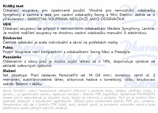 Informace o produktu MEDELA Odsávací souprava(přísluš.odsáv.vč.hadičky)