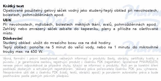Informace o produktu DISPOGEL-gelový studený a teplý obklad 5x11.5cm
