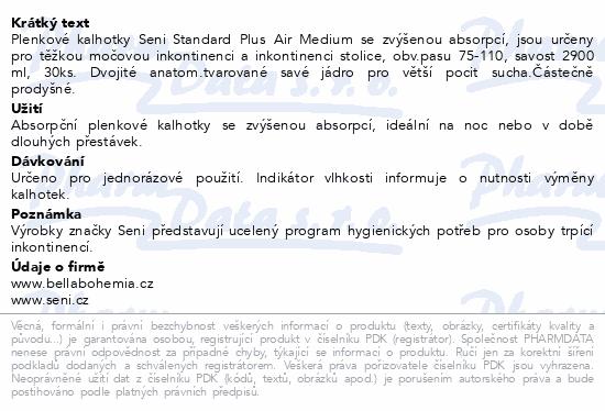 Informace o produktu Seni Standard Plus Air Medium 30ks plenk.kalhotky