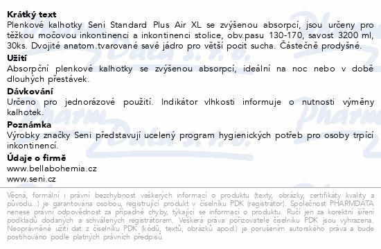 Informace o produktu Seni Standard Plus Air Extra Large 30ks plenk.kalh