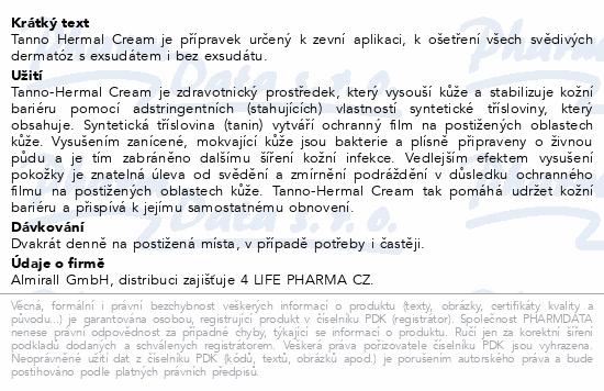 Informace o produktu Tanno-Hermal Cream 20g