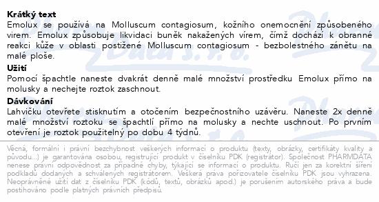 Informace o produktu EMOLUX 5 ml