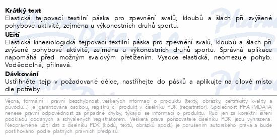 Informace o produktu FIXAtape Sport Kinesio tejp.páska 5cmx5m tělová