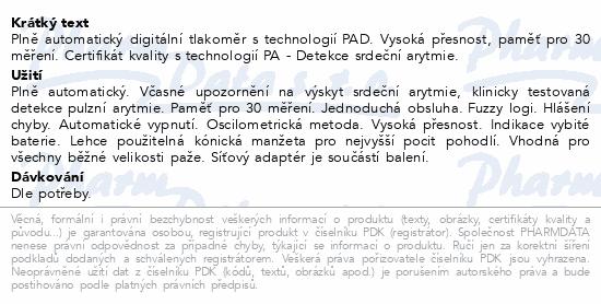 Informace o produktu Microlife Tlakoměr BP 3AG1 digit.automatický ZLATÝ