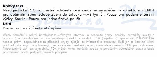Informace o produktu Flocare Sonda PUR CH8/110 ENFIT NOVÝ