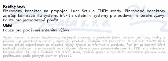 Informace o produktu Flocare Transition konektor na set Luer NOVÝ 30ks