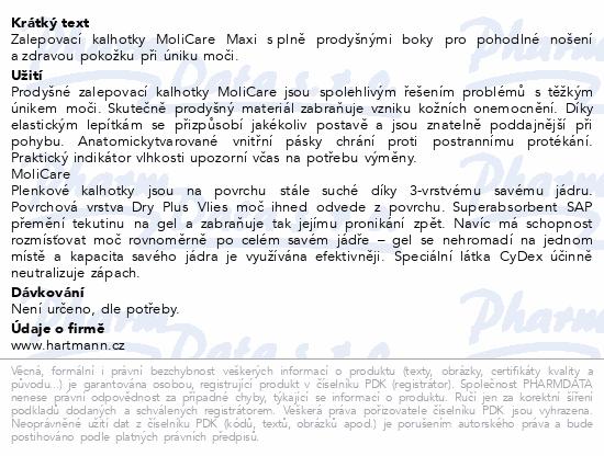 Informace o produktu MOLICARE 9kap M 14ks (MoliCare Maxi M)