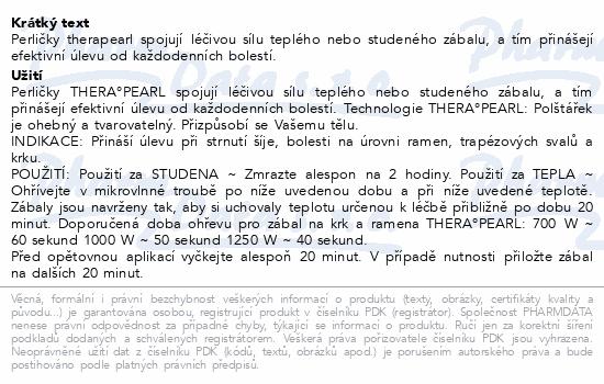 Informace o produktu TheraPearl Zábal na ramena - krk