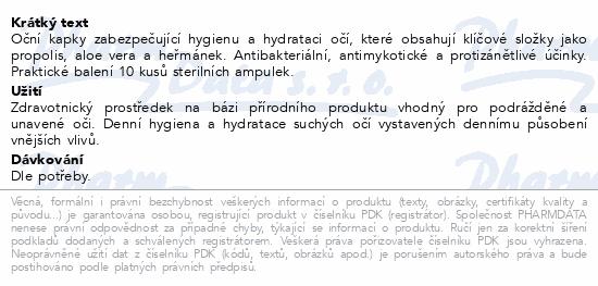 Informace o produktu Oculocin PROPO oční kapky 10x0.5ml